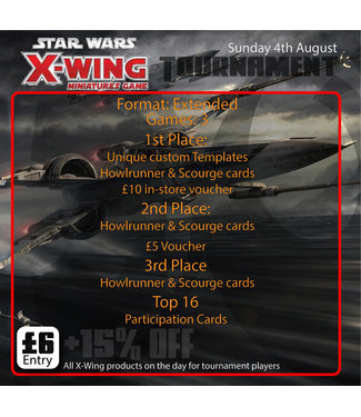 Tournaments X-Wing Tournament (Sun 4th August 2019)