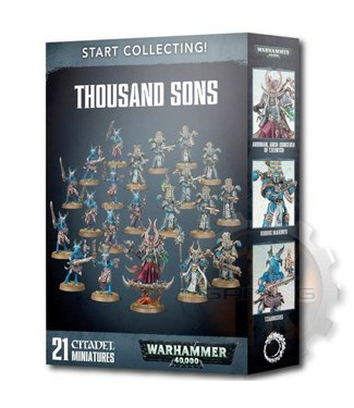 Warhammer 40000 Start Collecting! Thousand Sons