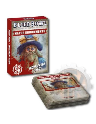Blood Bowl Blood Bowl: Inducements Cards