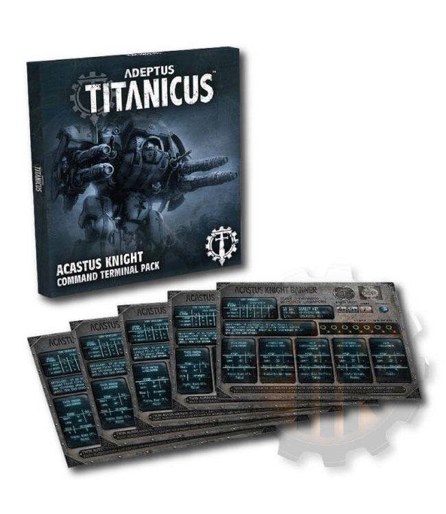 Adeptus Titanicus Acastus Knight Command Terminal Pk