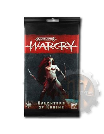 Warcry Daughters of Khaine Warcry Rules Cards