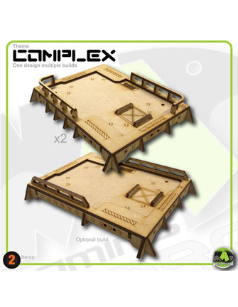 MAD Gaming Terrain Standard Bunker Roof