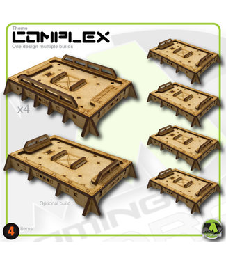 MAD Gaming Terrain Small Generic Roof's T-1