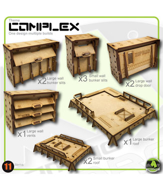 MAD Gaming Terrain Bunker Up-Grade pack