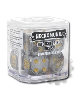 #Necromunda Enforcer Patrol Dice Set