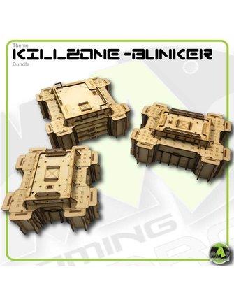 MAD Gaming Terrain Killzone - Bunker defence line