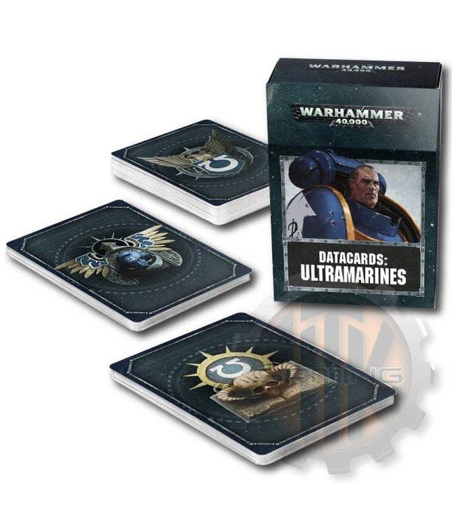 Warhammer 40000 Datacards: Ultramarines
