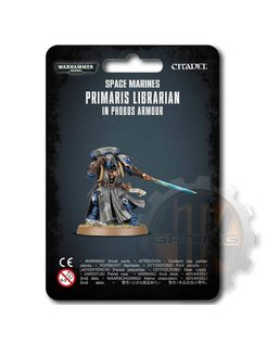 Primaris Librarian In Phobos Armour