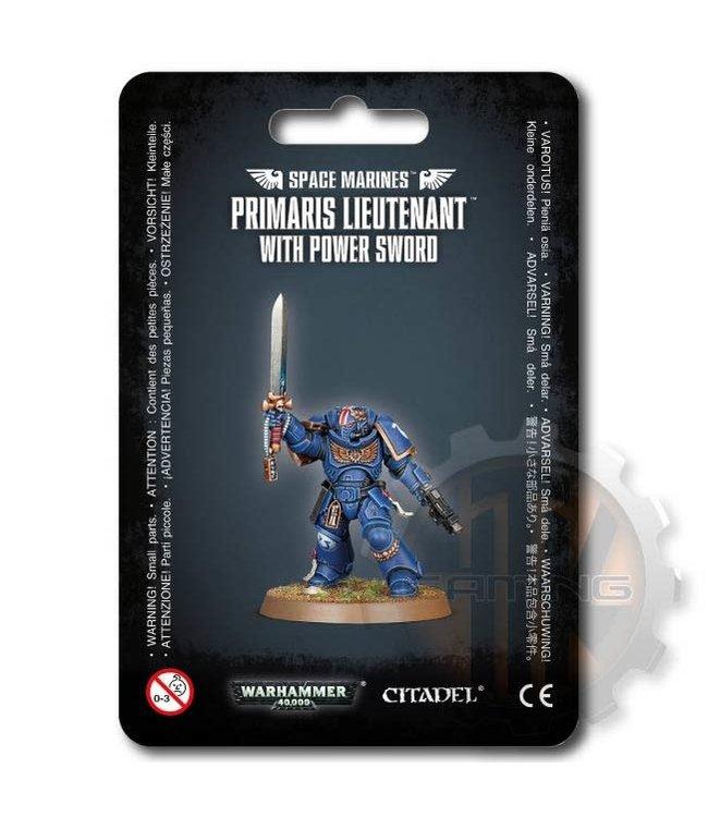 Warhammer 40000 S/M Primaris Lieutenant With Power Sword