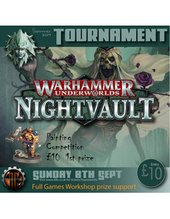 Warhammer Underworlds Tournament - (8th Sept 2019)