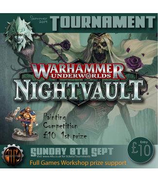 Tournaments Warhammer Underworlds Tournament - (8th Sept 2019)