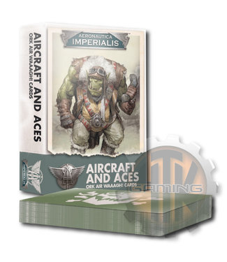Aeronautica Imperialis A/I Aircrft & Aces: Ork Air Waaagh! Crds
