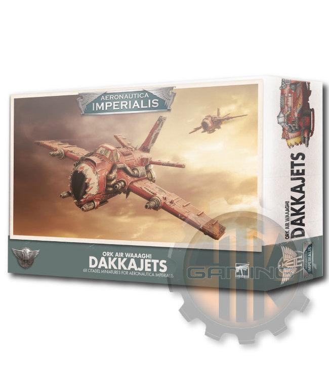 Aeronautica Imperialis A/Imperialis: Ork Air Waaagh! Dakkajets