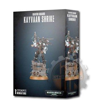Warhammer 40000 Raven Guard Kayvaan Shrike