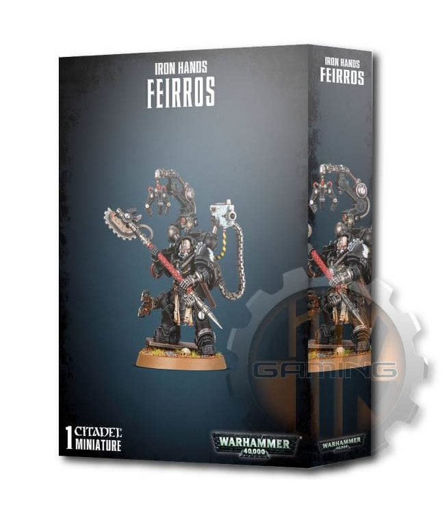 Warhammer 40000 Iron Hands Feirros