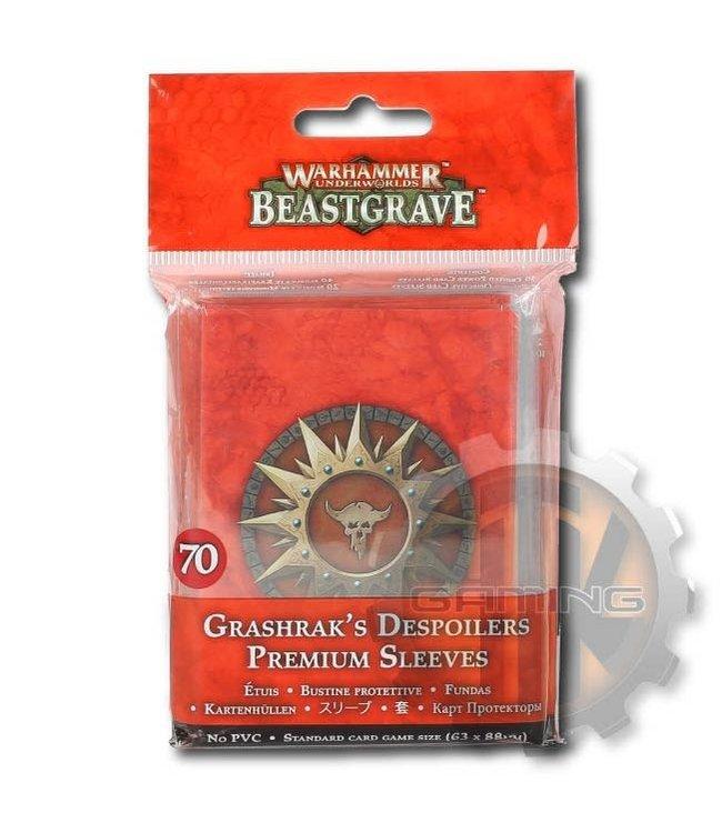 Warhammer Underworlds *Whu: Grashrak'S Despoilers Premium Slvs