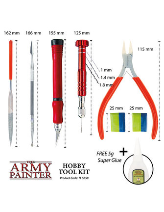 Army Painter Wargamers Hobby Tool Kit 2019