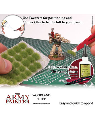 Army Painter Battlefield: Woodland Tuft