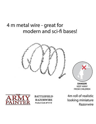 Army Painter Razor Wire - (4m roll)