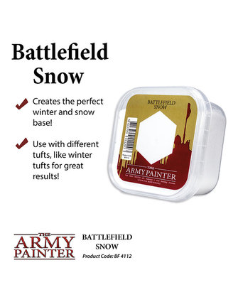 Army Painter Battlefield: Snow