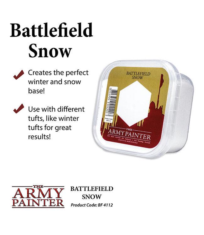 Army Painter Battlefield: Snow