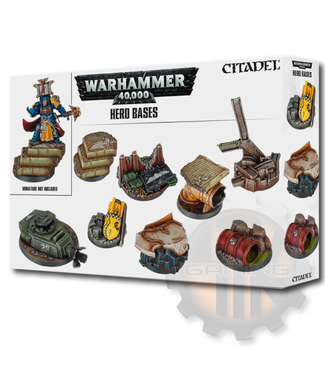 Games Workshop Warhammer 40000: Hero Bases