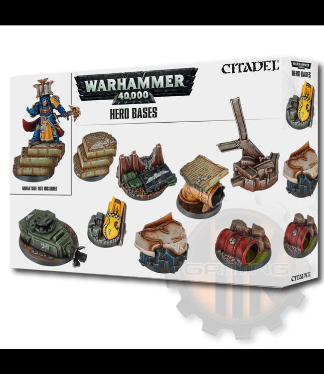 Games Workshop Warhammer 40000: Hero Bases