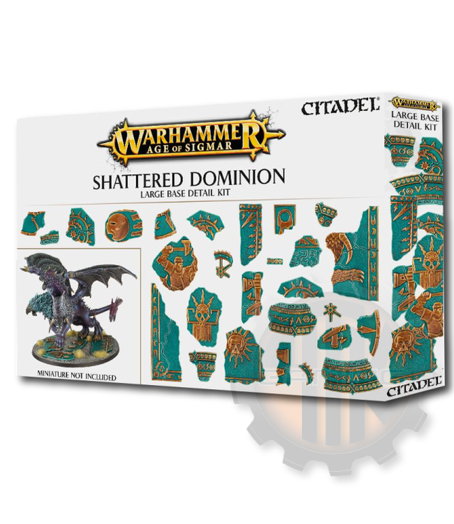 Games Workshop Aos Shattered Dominion Large Base Detail
