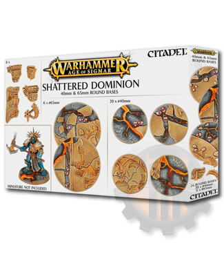Games Workshop Aos: Shattered Dominion: 65 & 40Mm Round