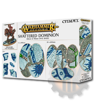 Games Workshop Aos: Shattered Dominion: 60 & 90Mm Oval