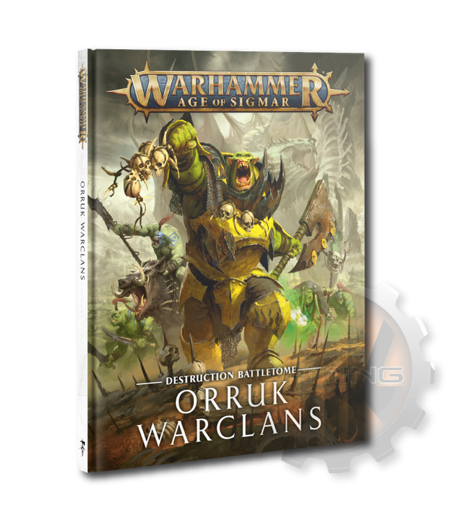 Age Of Sigmar Battletome: Orruk Warclans (Hb)