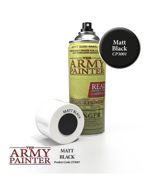 Army Painter Base Primer - Matt Black