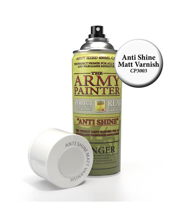 Army Painter Base Primer - Anti-Shine, Matt Varnish