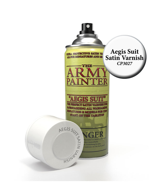 Army Painter Base Primer - Aegis Suit Satin Varnish