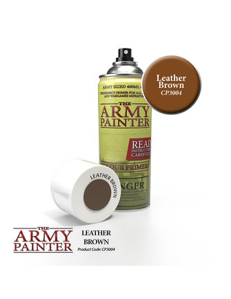 Army Painter Colour Primer - Leather Brown