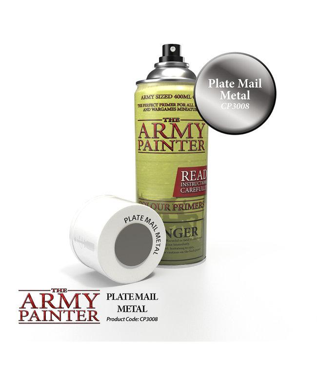 Army Painter Colour Primer - Platemail Metal