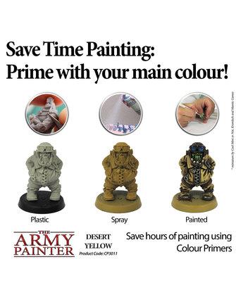 Army Painter Colour Primer - Desert Yellow
