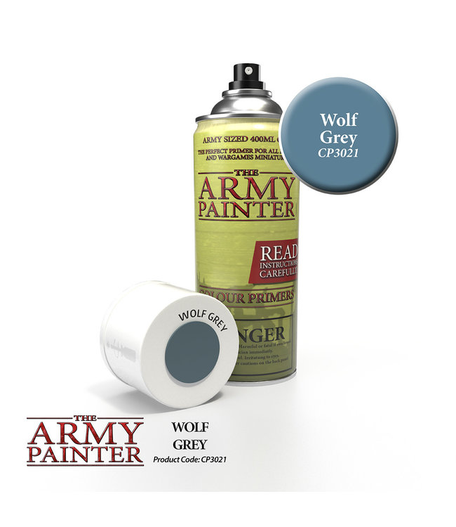 Army Painter Colour Primer - Wolf Grey