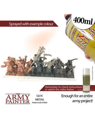 Army Painter Colour Primer - Gun Metal