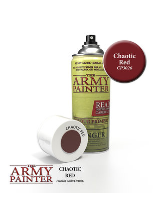 Army Painter Colour Primer - Chaotic Red
