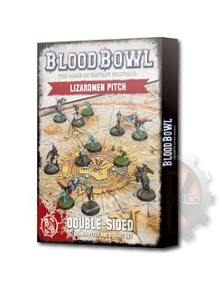 Blood Bowl: Lizardmen Pitch & Dugouts