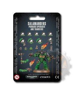 Salamanders Primaris Upgrades & Transfrs