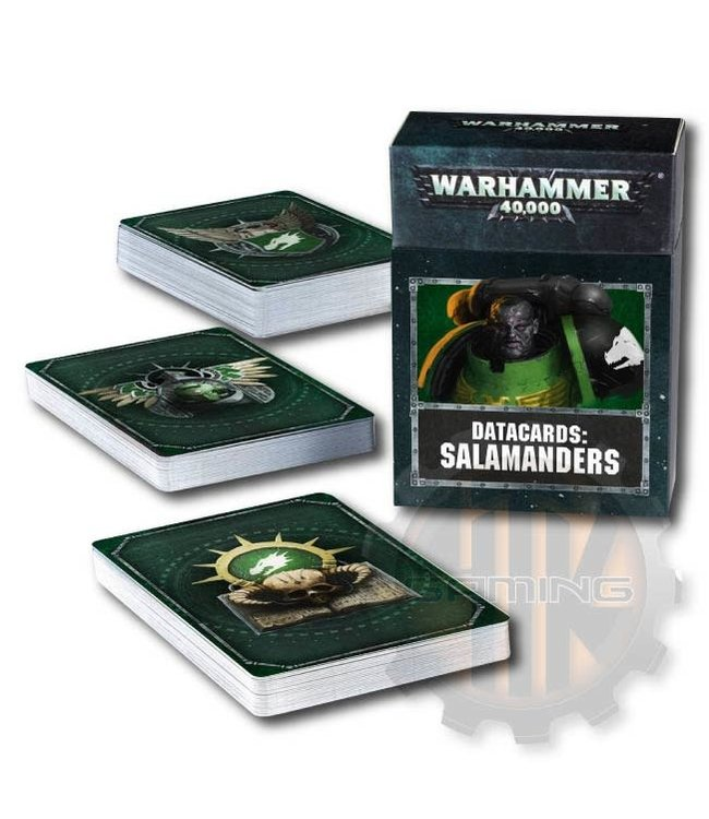 Warhammer 40000 Datacards: Salamanders