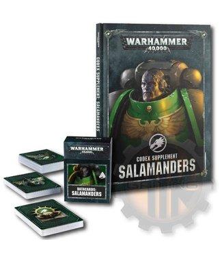 Warhammer 40000 Salamanders Codex & Data Cards