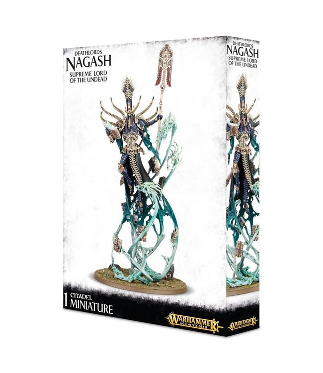 Age Of Sigmar Deathlords Nagash Supreme Lord Of Undead