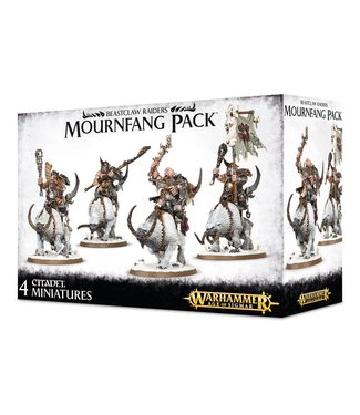 Age Of Sigmar Beastclaw Raiders Mournfang Pack