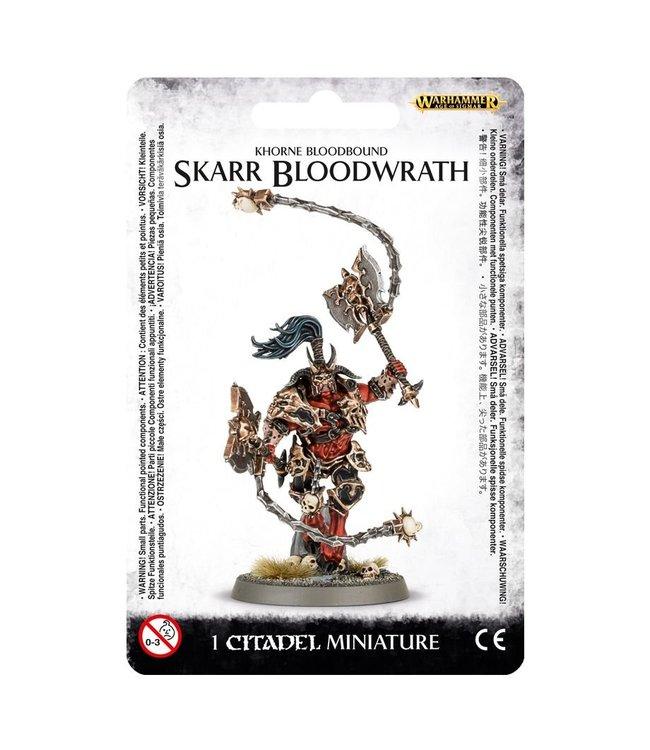 Age Of Sigmar ~Khorne Bloodbound Skarr Bloodwrath