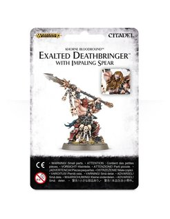 #Exalted Deathbringer With Impaling Spear