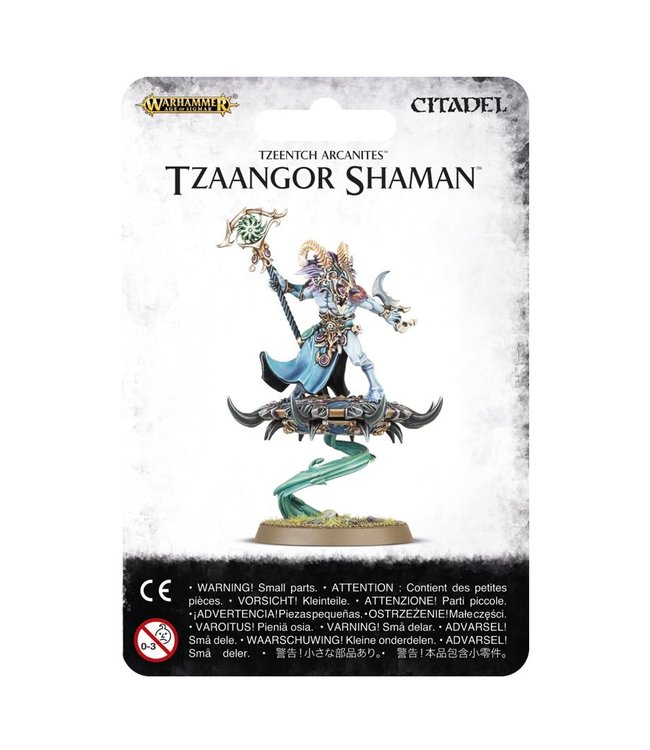 Age Of Sigmar ~ Tzeentch Arcanites Tzaangor Shaman