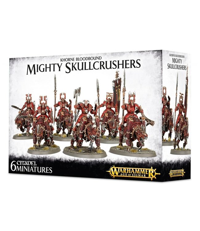 Age Of Sigmar Khorne Bloodbound Mighty Skullcrushers
